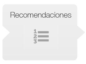 recomendaciones sydeo